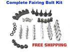 Complete Fairing Bolt Kit body screws for Kawasaki Ninja ZX 6RR 636 2003 - 2004