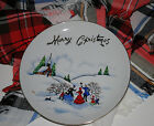 Upscale LEFTON China Merry Christmas Decorative Serving Plate 8