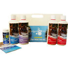 CHLORINE STARTER KIT 500g HOT TUBS SPAS AQUASPARKLE POOLS PH+ TEST STRIPS PH