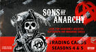 SONS OF ANARCHY Seasons 4 & 5 Trading cards SEALED Hobby Box Cryptozoic