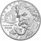 2016 P Mark Twain Proof Silver Dollar Coin From US Mint