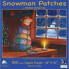 Snowman Patches 500 Piece New Jigsaw Puzzle