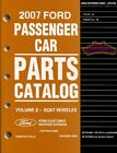 FORD 2007 MANUAL FOCUS FREESTYLE PARTS CATALOG