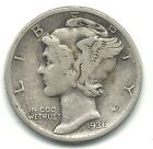VERY NICE BETTER GRADE 1936 S MERCURY SILVER DIME-OLD US COIN-DEC763