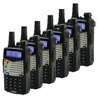 6PCS Baofeng UV-5RA Walkie Talkie UHF+ VHF 5W 128CH Monitor DTMF Two way Radio