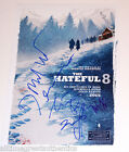 THE HATEFUL EIGHT CAST SIGNED 12X18 MOVIE POSTER COA QUENTIN TARANTINO PROOF