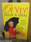 SIGNED Oy Vey Such A Deal Gerrie Hyman Mills Jewish Girl Christian Pastor Wife