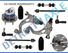 12pc Control Arm Ball Joint Wheel Bearing Sway Bar Tierod Kit for Buick Cadillac