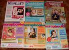Lot 6 Scrapbooking Scrapbooks Magazine Memory Makers Photo Albums