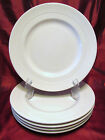 Syracuse China 27-A White Dinner Plates Set 5 Decorative Center Band 10 5/8