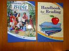 New A Beka 1 3 First Second Third Handbook Reading Primary Bible school Phonics