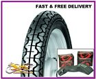 HERCULES K125 K 125 MILITARY REAR TYRE & TUBE 3.50x18 62P 3.50-18 350-18 Mitas