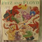 Fitz & Floyd Holiday Elf Canape plate in box