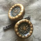 Antique Victorian Brass Fancy Doorknobs by Corbin Design