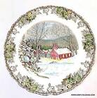 Johnson Brothers The Friendly Village The School House 10 inch Dinner Plate