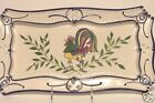 French Country Pottery Decorative Tray Hand Painted Portugal Pretty