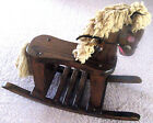PLANTATION PONY WLP ROCKING HORSE VINTAGE WOOD CHILDRENS SOLID WOODEN ROCKER HTF