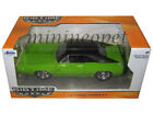 JADA 97595 1970 DODGE CHARGER R/T 1/24 DIECAST MODEL CAR GREEN