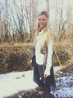 navy blue native aztec print sweater vest with fringe