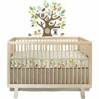 Skip*Hop Treetop Friends 4 pc Complete Crib Bedding Set with Decals