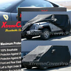 2016 2017 2018 JEEP WRANGLER UNLIMITED BREATHABLE CAR COVER W/MIRRORPOCKET-BLACK