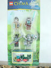 Chima Lego #850910 set of 4 minifigures and small set of pieces new Awesome