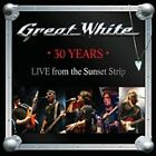 30 Years: Live from the Sunset Strip * by Great White (CD, Feb-2013,...