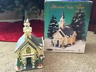 Heartland Valley Village Deluxe Porcelain Lighted House Church Bell Limited Edit