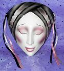 Vintage About Face Clay Art Mask Art Deco Look 8
