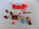 LEGO Pirate Starter Set with 2 Minifigure Cannon rowboat crates more g