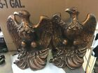 UNIVERSAL STATUARY CORP. EAGLE no. 319 Chicago 1966 10 1/2 tall by 8'' wide Pair