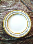 ROYAL WORCESTER  GOLD ENCRUSTED VERY DETAILED ROSES DINNER PLATE - ENGLAND