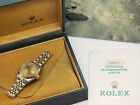 Classic Ladies Steel & Gold Rolex Oyster Perpetual Datejust - Box & Papers