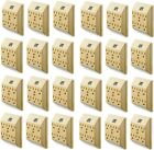 (24) Uninex PS23U-IV Ivory 6 Way / Outlet Electrical Plug Current Tap / Adapters
