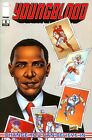 YOUNGBLOOD 8 President BARAK OBAMA Comics Rob Liefeld Cover Art Spiderman 583