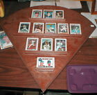 Full set of Franklin Mint Porcelain Cards Nolan Ryan through the years