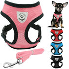 Didog Air Mesh Fabric Puppy Dog Harness and Walking Leash for Chihuahua Poodle