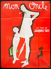 MON ONCLE MY UNCLE Jacques Tati French 46x61 poster RI Filmartgallery