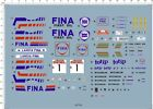 Detail 1/10 Scale LANCIA DELTA HF 16v SANREMO RALLYE Model Kit Water Slide Decal