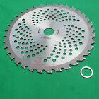 New 9 Carbide Tip Brush Cutter Trimmer Blade 36 Teeth With Arbor washer