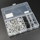 Motorcycle Sportbike Complete Fairing Bolts Kit Fastener Clips Screws Silver NEW