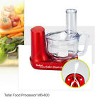 Tefal Food Processor Blender Mixer Kitchen Small Appliance Mini Pro MB-600