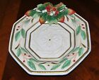 Fitz and Floyd WINTER WONDERLAND Christmas Canape Serving Plate