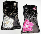 Girls New Party Dress With Glitzy Sequins Stitched in Colour sequins 4Y 1