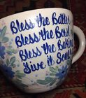 East Texas Pottery Marshall; mixing bowl with handle and scripture verse; Unique