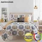White Quilt Set Full queen Size Bedding Home Collection