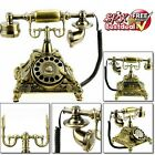 Vintage Corded Telephone Retro Dial Home Decor Standing Quality Antique Style