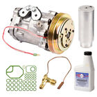 AC Compressor Kit + Drier Expansion Device Oil  More For Chevy Geo Suzuki