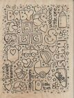 Baby Background Rubber Stamp by Stampendous
