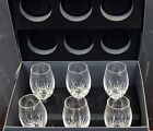 Waterford Crystal Lismore Essence White Wine Deluxe  Gift Set of 6 New in Box